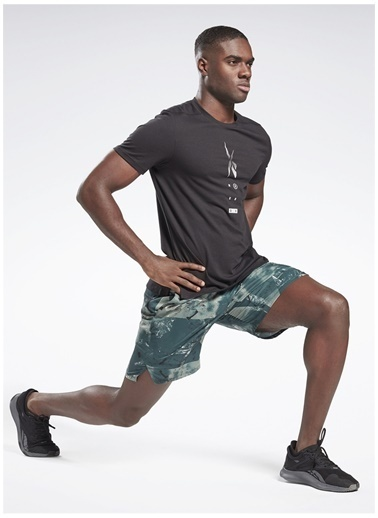 Reebok Reebok Gj6365 Ts Speedwick Move T T-Shirt Siyah